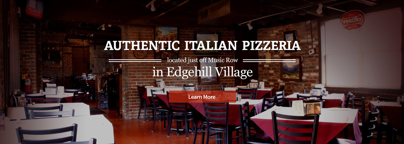 Authentic Brick Oven Pizza Nashville